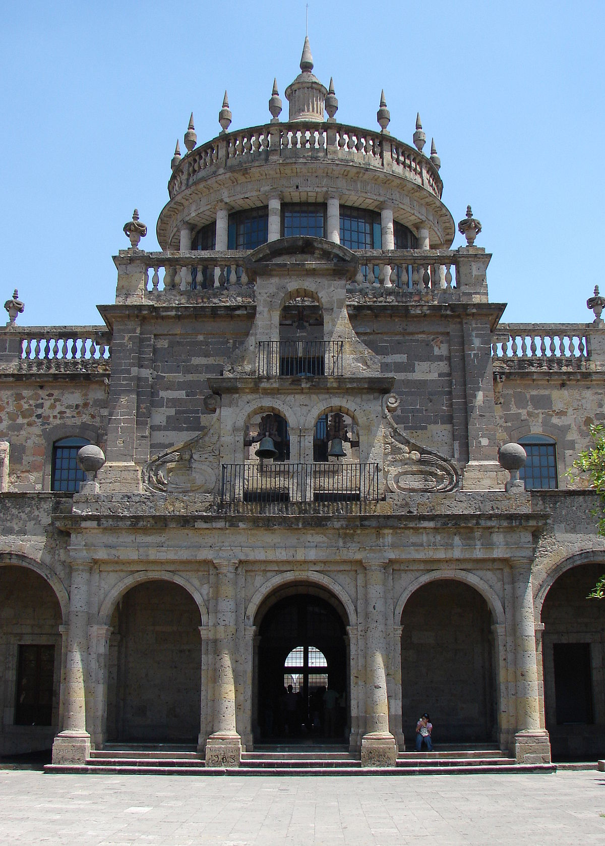 Hospicio caba as wikipedia la enciclopedia libre for Arquitectura de mexico