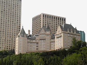 Heritage buildings in Edmonton - The Hotel Macdonald opened in 1915 and became a Municipal Historic Resource in 1984.