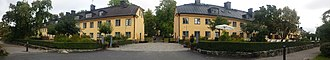 Hotel Skeppsholmen - The two buildings of the hotel