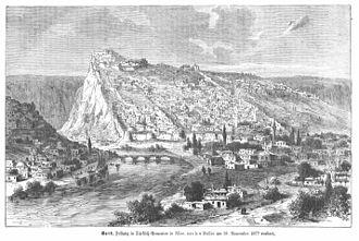 Battle of Kars - Image: Hottinger Volksblatt 1878 004 Bild 1