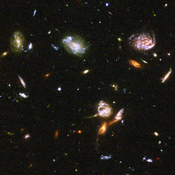 Hubble Ultra Deep Field part d