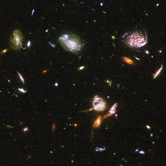 Outer space - Image: Hubble Ultra Deep Field part d
