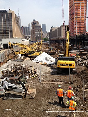 10 Hudson Yards - Image: Hudson Yards South Tower May 2013