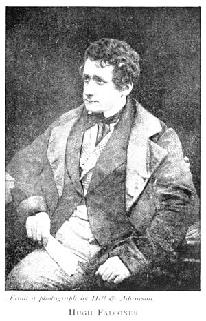 Hugh Falconer - Falconer in 1844