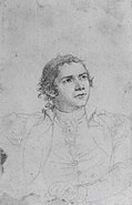 Hugh Mercer, Jr. (Study for The Death of General Mercer at the Battle of Princeton, January 3, 1777), 1791