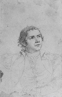 Hugh Mercer, Jr. (Study for The Death of General Mercer at the Battle of Princeton, January 3, 1777), 1791.jpg