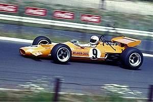 Denny Hulme - 1969 German GP on the Nordschleife