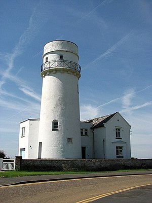 Old Hunstanton Lighthouse - Image: Hunstanton lighthouse geograph.org.uk 837014