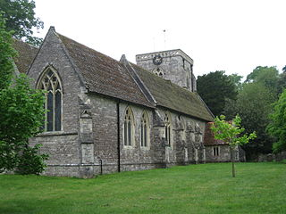 Hursley village in the United Kingdom
