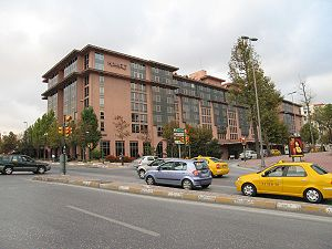 Hyatt Regency Hotel in Taksim quarter of Istan...