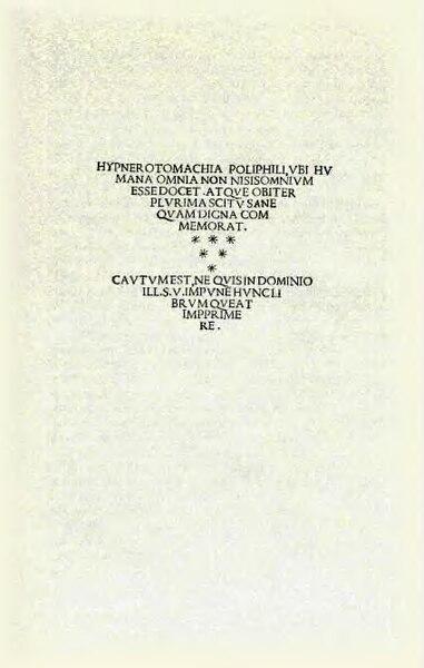 File:Hypnerotomachia Poliphili.djvu