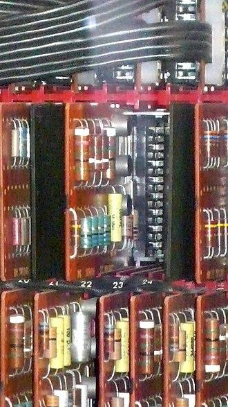 IBM 7070 - IBM 7070 transistor circuit SMS boards