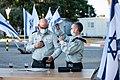 IDF Maneuver Array establishment ceremony 3.jpg