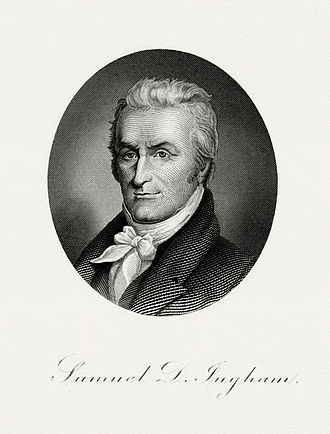 Samuel D. Ingham - Bureau of Engraving and Printing portrait of Ingham as Secretary of the Treasury.