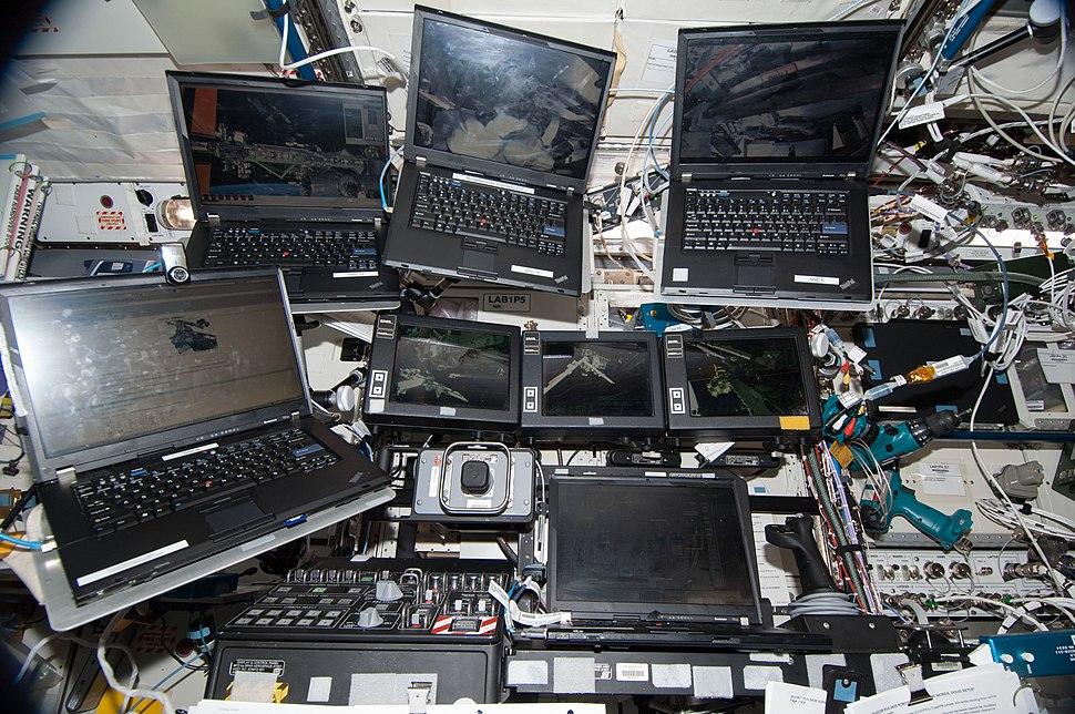 ISS-38 EVA-1 Laptops