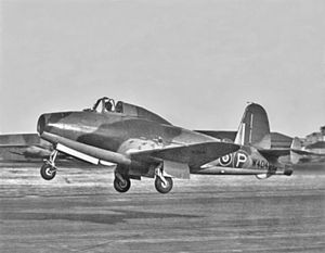 Gloster E.28/39 - The first E.28/39 prototype W4041/G