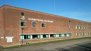 Vejlby - Image: Idrætshøjskolen Århus (2014)