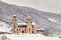 Iglesia de San Nicolás, Mavrovo, lago Mavrovo, Macedonia, 2014-04-17, DD 16.JPG