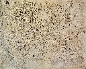 Emilio Scanavino - Il Muro 1954. E. Scanavino