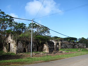 Isle of Pines (New Caledonia) - Ruins of the penal colony in Ouro