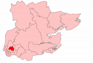 Ilford North (UK Parliament constituency) - Ilford North in Essex, 1945-50