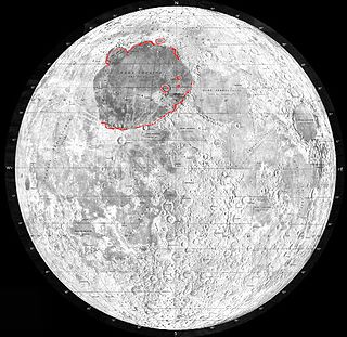 Mare Imbrium vast lunar mare filling a basin on Earths Moon