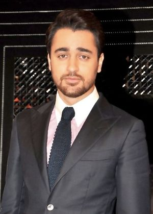 Imran Khan (Indian actor) - Khan at a promotional event for Matru Ki Bijlee Ka Mandola in 2013