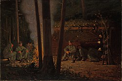 In Front of Yorktown by Winslow Homer