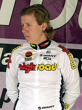 Ina Teutenberg 2008 Geelong Tour Stage1 podium 1.jpg