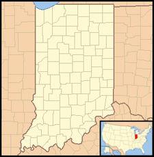 Leesburg is located in Indiana