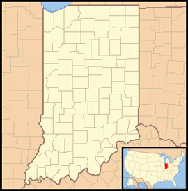 Indianapolis is located in Indiana
