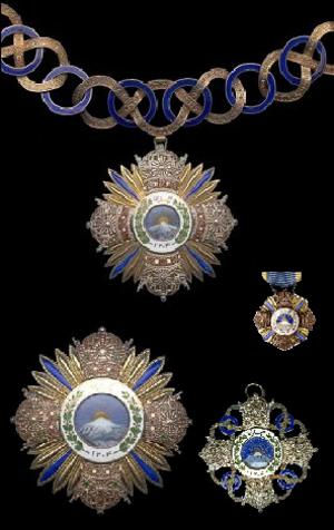 Order of Pahlavi - Image: Insignias Pahlavi