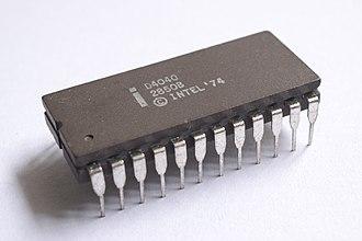 Intel 4040 - The ceramic D4040 variant.
