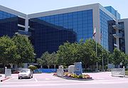 Intel headquarters in Santa Clara