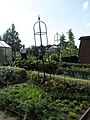 Interested visitors within the Vegetable Garden at the Royal Horticultural Society's Gardens,Wisley - geograph.org.uk - 943040.jpg
