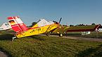 Interflug PZL-106AR 2M Kruk D-FOAB OTT 2013 01.jpg
