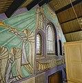 Interieur, gedeelte van kap met schilderingen - Leiden - 20338196 - RCE.jpg