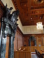 Interior of Courtroom 600 - Palace of Justice - Where Nuremberg Trials Were Held - Nuremberg-Nurnberg - Germany - 01.jpg