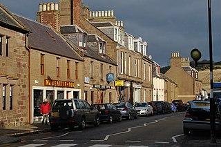 Inverbervie Human settlement in Scotland