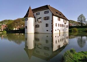 Inzlingen Castle - Image: Inzlingen Wasserschloss 2