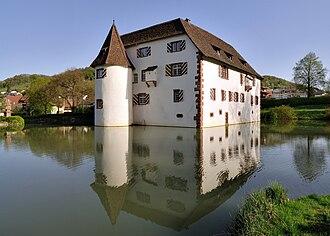 Inzlingen - Wasserschloss Inzlingen