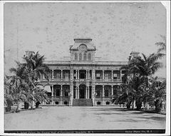 Iolani Palace, photograph by Frank Davey (PP-10-8-037).jpg