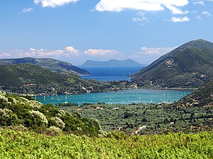 Ionian Islands - View of Lefkada