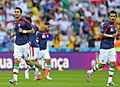 Iran and Nigeria pre match, 2014 FIFA World Cup 11.jpg
