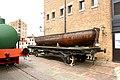 Iron Boat on a Railway Truck National Waterways Museum, Gloucester (1).jpg