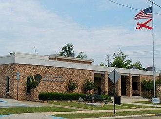 Irondale, Alabama - Image: Irondale, AL Municipal Complex