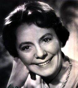 Isa Quensel cirka 1950'ere.