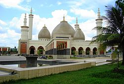 Islamic Centre of Kampar in Bangkinang city