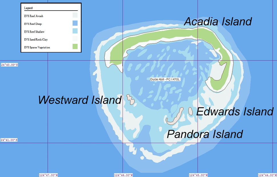 Islets of Ducie Atoll