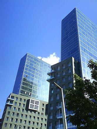 Isozaki Atea - Isozaki Atea twin towers